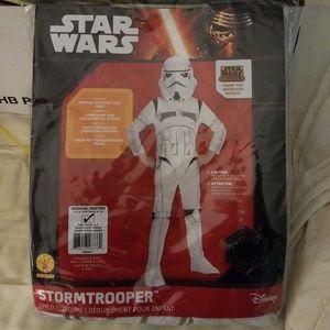 Kids storm trooper costume